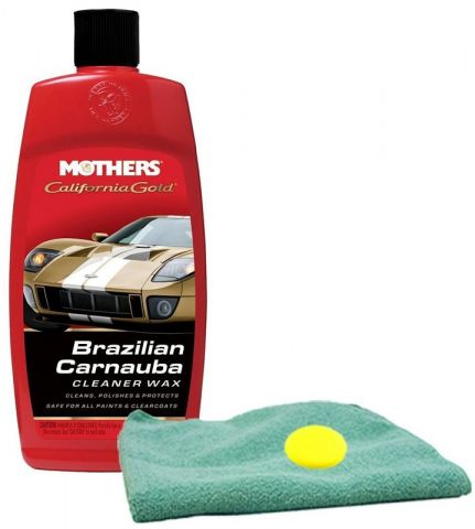 Водоотталкивающий Mothers California Gold Brazilian Carnauba Cleaner Wax