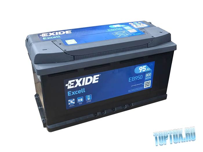 EXIDE 6СТ-80 ES900 EQUIPMENT GEL