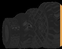Шины для спецтехники, шины для погрузчика — резина Armour